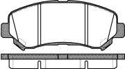 Тормозные колодки передние ROADHOUSE NISSAN RH 21318.00