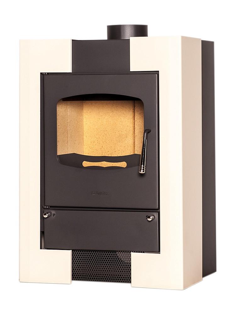 Отопительная печь-камин длительного горения FLAMINGO ESPO I (кремовый)
