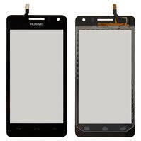 Сенсор (тачскрин) для Huawei G600 Ascend Honor+ U8950-1/U9508 черный