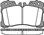 Тормозные колодки передние ROADHOUSE LEXUS RH 21320.00