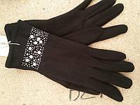 Женские перчатки теплые на флисе