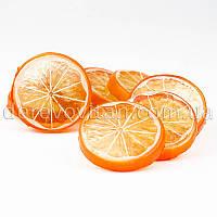 Декоративные дольки апельсина, 0.9×5 см, 25 шт.