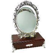 Зеркало с ящиком