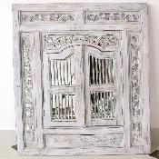Зеркало со ставнями 80х95 см.