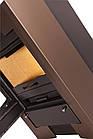 Отопительная печь-камин длительного горения FLAMINGO ESPO I (коричневый бархат), фото 2