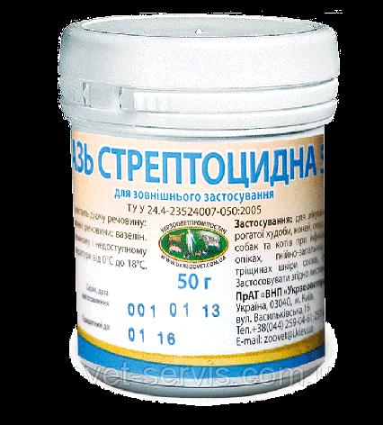 Мазь стрептоцидная 5%, упаковка - 50 г, фото 2