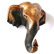 Маска-слон, 25 см.