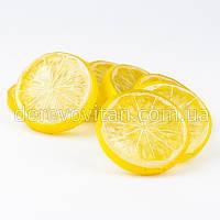 Декоративные дольки лимона, 0.9×5 см, 25 шт.