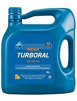 Моторное масло Aral Mega Turboral SAE 10W-40, 5л, полусинтетическое