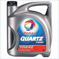 Моторное масло Total Quartz 7000 10W-40, 5л, полусинтетическое