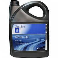 Моторное масло полусинтетика GM Motor Oil 10W-40, 5л