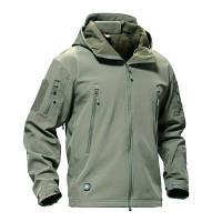 Тактическая куртка Soft Shell Esdy Olive
