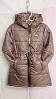 Пальто подростковое на девочку 116-140 см