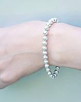 Глянец - серебряный браслет 925 пробы