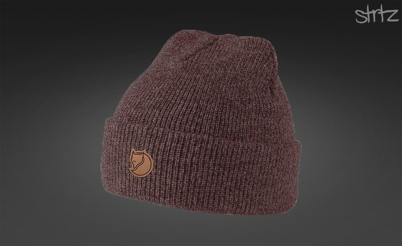 Шапка с подскатом Fjallraven Melange Winter Beanie