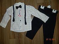 Нарядные костюмы для мальчиков с подтяжками на 2 года