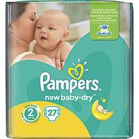 Подгузники Pampers New Baby-Dry Mini для детей 3-6 кг 27 шт