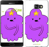 "Чехол на Samsung Galaxy A8 (2016) A810 Принцесса Пупырка. Adventure Time. Lumpy Space Princess v2 ""1221u-614-4074"""