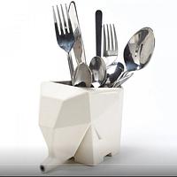 Подставка (сушилка) для кухонных принадлежностей Слон Бежевый top-270