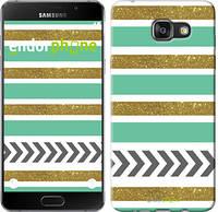 """Чехол на Samsung Galaxy A8 (2016) A810 Шеврон v9 """"3200u-614-4074"""""""