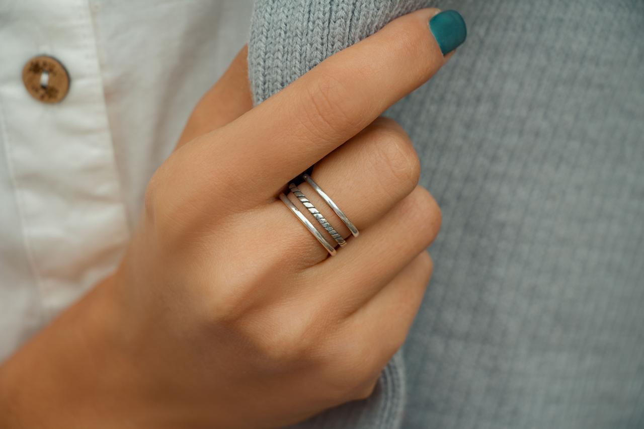 3 Полосы - кольцо