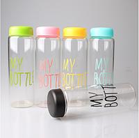 """Бутылка для воды """"My Bottle"""" (500мл) пластик"""