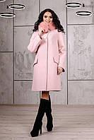 Кашемировое женское пальто  П-978 н/м Кашемир Тон 28