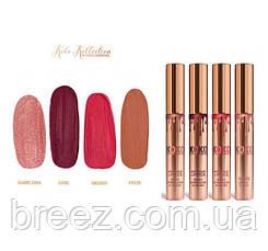 Матовые жидкие губные помады Kylie Cosmetics KOKO KOLLECTION 4 шт., фото 2