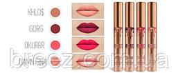 Матовые жидкие губные помады Kylie Cosmetics KOKO KOLLECTION 4 шт., фото 3