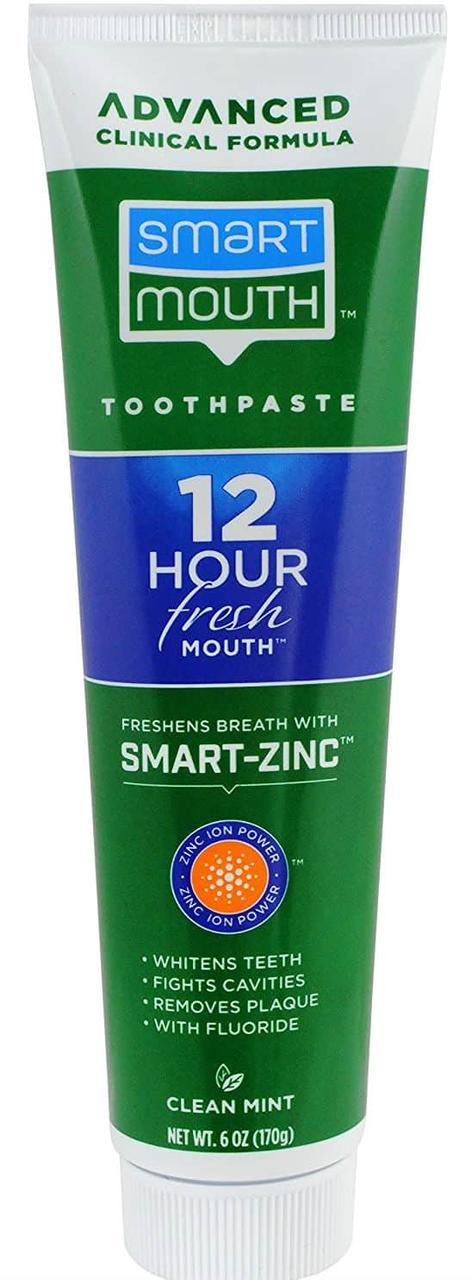 Зубная паста с фтором SmartMouth Advanced Clinical Formula 12 Hour Fresh Mouth Toothpaste Fluoride