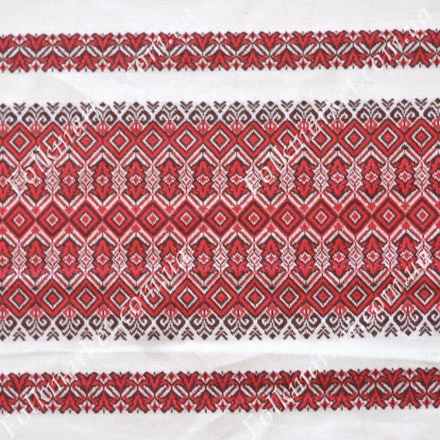 Ткань на рушник с украинской вышивкой Аншлаг ТДК-109 1/1