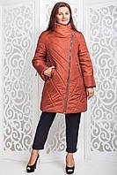 Куртка женская осень весна большого размера В-970 Лаке Тон 73