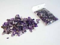 Натуральный камень крошка (Аметист) (10гр.)