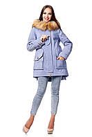 Демисезонная куртка парка П-893 и/м МФ 102032 Тон 636
