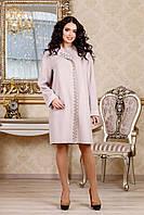 Пальто женское прямого силуэта В-1022 Aрт.160416 Тон 2