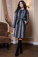 Женское пальто теплое  В-811 Dracena/10 Тон 1