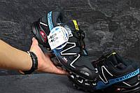 Кроссовки Salomon Speedcross темно синий с голубым