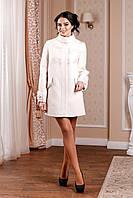 Кашемировое женское демисезонное пальто В-974 Кашемир Тон 5