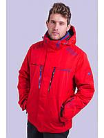 Мужская горнолыжная куртка Avecs, красный Р. 50 52