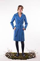Кашемировое пальто Тур-7 голубой