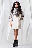 Демисезонное пальто оверсайз с капюшоном женское Armilise 9100 7521272d42507