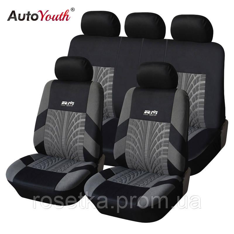 Автомобильные чехлы на передние и задние сиденья RM (Road Master)