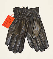 Мужские перчатки кожаные на махре