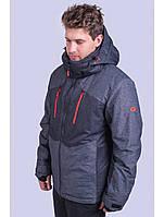 Мужская горнолыжная куртка Avecs, темно-серый Р. 50