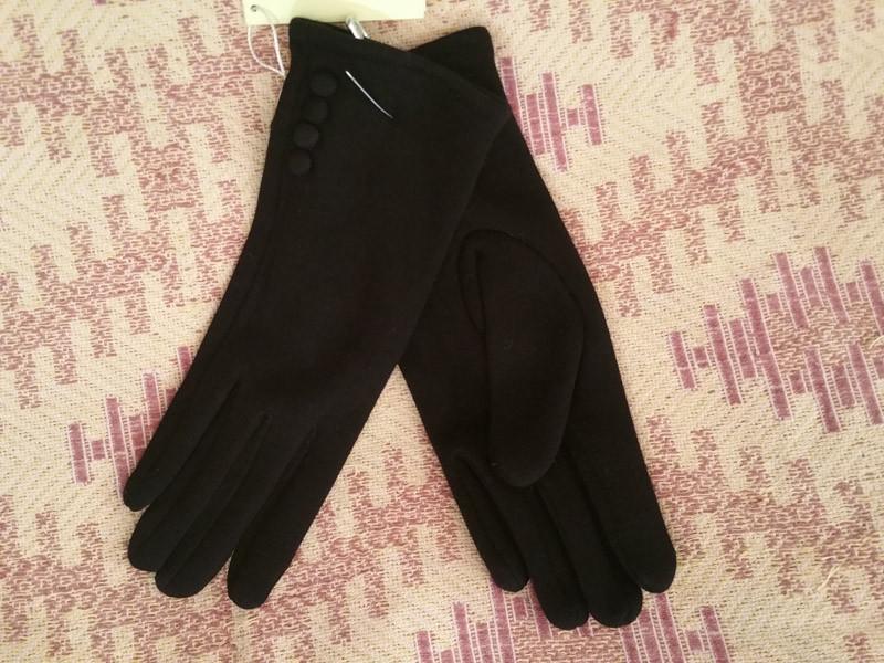 Женские перчатки зимние на флисе