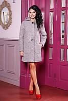 Стильное женское пальто на осень В-1049 W09+BND Тон 48