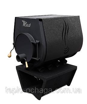 Варочная печь Rud Pyrotron Кантри 02 с варочной поверхностью обшивка декоративная (черная), фото 2