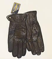 Мужские перчатки кожаные на меху(кролик)