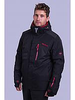 Мужская горнолыжная куртка Avecs, черный Р. 50