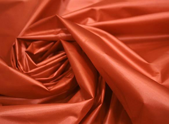 Плащевая ткань лаке терракотовая оптом, фото 2